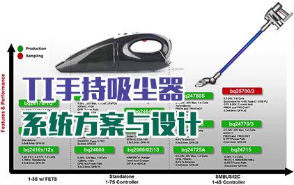 TI手持吸尘器系统方案与设计