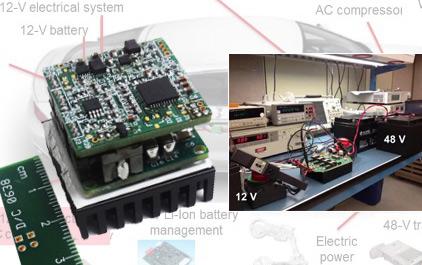 高效率小尺寸双向DC-DC变换器设计