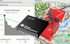 CC1310通信距离测试