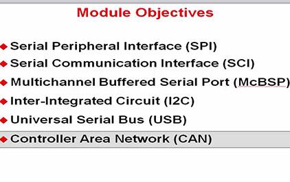 C2837x入门指南(二十五)—通信系统之CAN