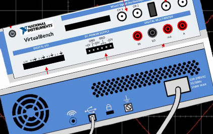 1.2 TI 高精度实验室 - 国家仪器虚拟测试仪概述