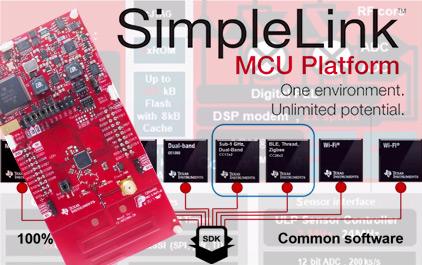 Simplelink无线连接平台介绍