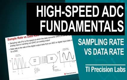 9.5高速数据转换器中的采样率与数据速率,抽取(DDC)和插值(DUC)概念