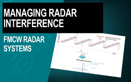 管理FMCW雷达系统中的干扰
