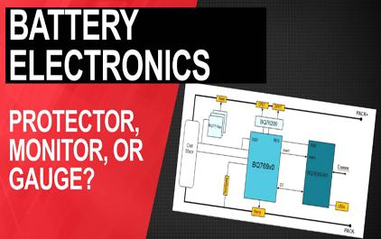 电池的保护器,监视器还是测试表?