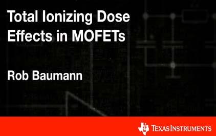 总电离剂量对MOSFET的影响