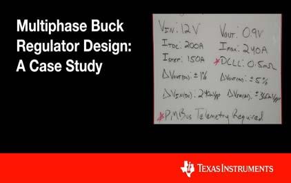 多相降压稳压器设计:案例研究