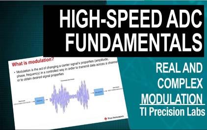 高速数据转换器信号处理:真实和复杂的调制