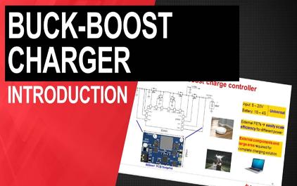 降压 - 升压开关模式电池充电器介绍