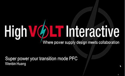 1.2为你的临界模式PFC提供超强动力 - PFC以及CRM PFC工作原理