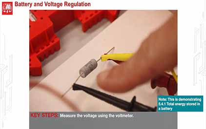 TI-RSLK 模块 5 - 实验视频 5.1 - 测量电池的电压和电流