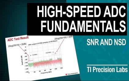 9.3了解高速数据转换器中的信噪比(SNR)和噪声频谱密度(NSD)