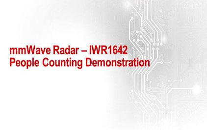 毫米波雷达的应用无处不在- 1.2 用 IWR1642 进行人员数量统计的演示说明