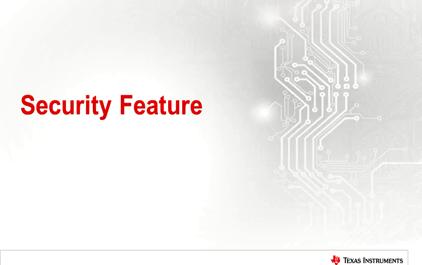 1.2 人机交互与 TI Sitara 处理器的应用 - 2.安全性能
