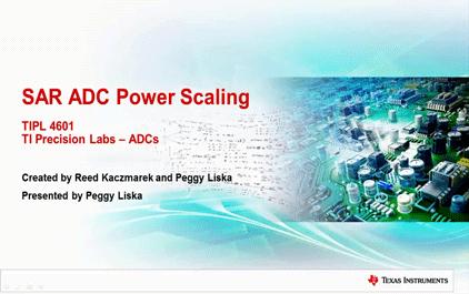 6.1 SAR ADC功耗分析与计算