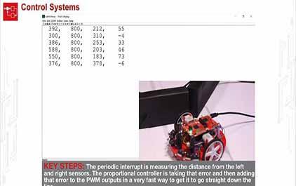TI-RSLK 模块 17 - 实验视频 17.2 - 演示控制系统 - 比例控制