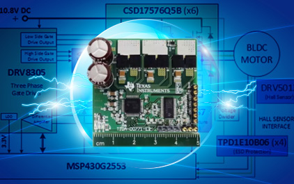 功率级保护,电流感应,效率分析和相关的TI设计