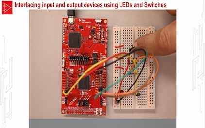 TI-RSLK 模块 8 - 实验视频 8.1 - 连接开关和 LED 以及调试