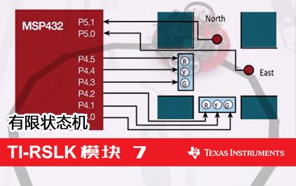 TI-RSLK 模块 7 - 有限状态机