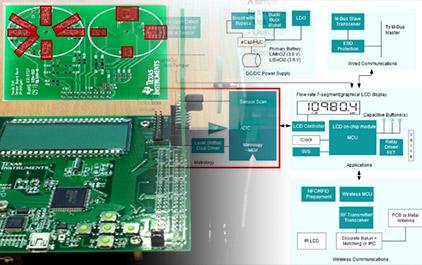 基于TI MSP430 Scan Interface 技术的流量表解决方案