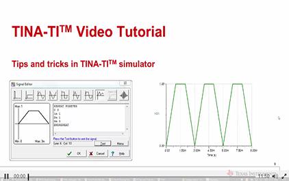 TINA-TITM仿真软件的提示和技巧
