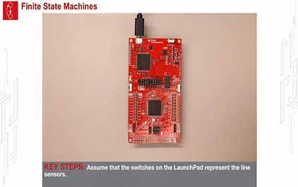 TI-RSLK 模块 7 - 实验视频 7.1 - 运行 FSM 启动代码