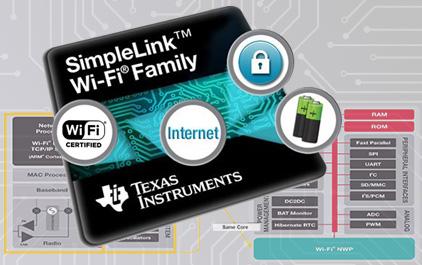 德州仪器SimpleLink™Wi-Fi解决方案