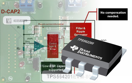 TPS56x201/8 直流降压器简介
