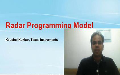 2.4 mmWave雷达编程模型