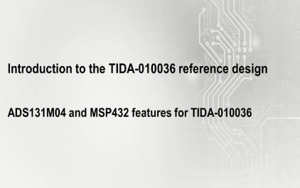 2.1 用于TIDA-010036的ADS131M04和MSP432功能