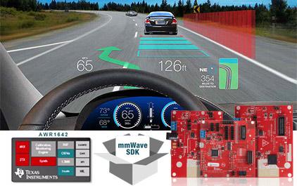 高性能、高集成度毫米波传感器产品