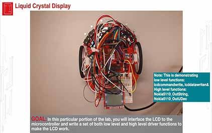 TI-RSLK 模块 11 - 实验视频 11.1 - 演示 LCD 界面