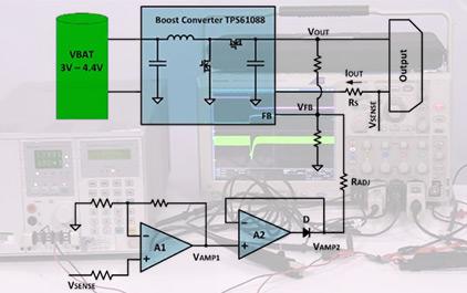 升压变换器的输出电流精确限流方案