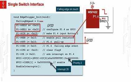 TI-RSLK 模块 14 - 讲座视频 - 实时系统 - 边沿触发中断