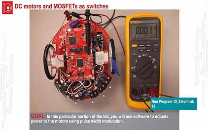 TI-RSLK 模块 12 - 实验视频 12.1 - 演示电机基础知识