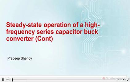 1.3串联电容降压变换器的工作模式续
