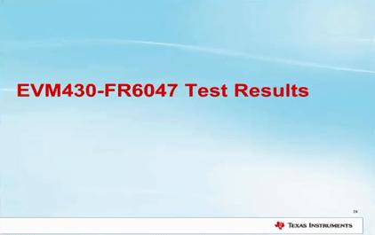 1.8 超声波流量测量 - EVM430-FR6047测试结果