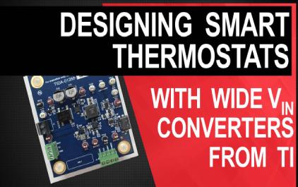 为恒温器应用设计宽输入DC / DC转换器