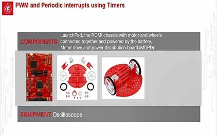 TI-RSLK 模块 13 - 实验视频 13.1 - 通过计时器产生的 PWM 输出来旋转电机