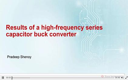 1.5串联电容降压变换器的测试结果