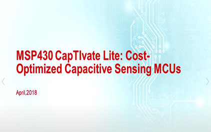 TI MSP430 CapTIvate Lite: 成本优化的电容触摸微控制器 (2)
