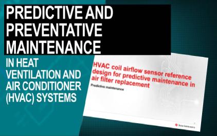热通风和空调(HVAC)系统中的预测和预防性维护