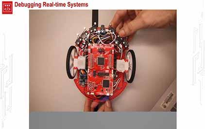 TI-RSLK 模块 10 - 实验视频 - 演示运行线传感器和黑匣子记录器