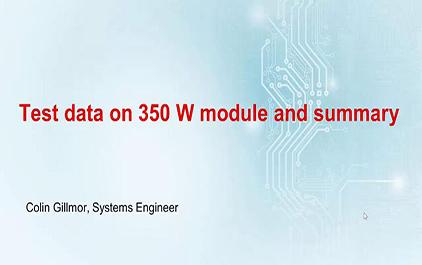 1.5 350W样机测试数据及总结