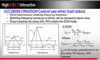 1.3为你的临界模式PFC提供超强动力 - UCC28056 CRMDCM控制芯片工作原理