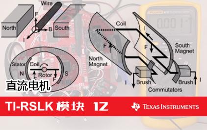 TI-RSLK 模块 12 - 讲座视频 - 直流电机 - 物理