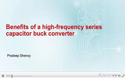 1.4串联电容降压变换器的主要优点