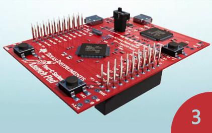 用LaunchPad BoosterPack生态系统快速建立原型3