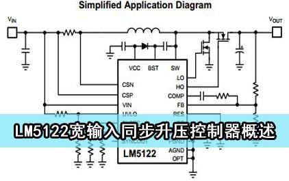 LM5122宽输入同步升压控制器概述