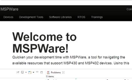 MSP430 (10) MSPware
